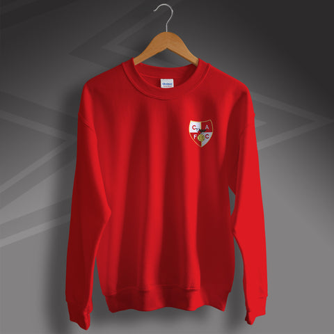 Charlton Football Sweatshirt Embroidered 1946