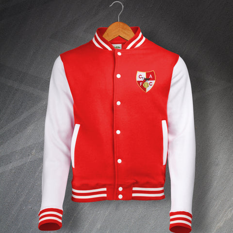 Charlton Football Varsity Jacket Embroidered 1946