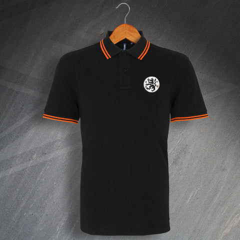 Retro Terrors Embroidered Tipped Polo Shirt
