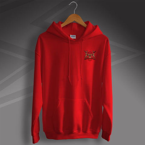 Forest Football Hoodie Embroidered 1970