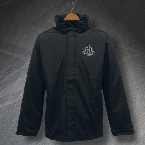Retro Gateshead Waterproof Jacket with Embroidered Badge