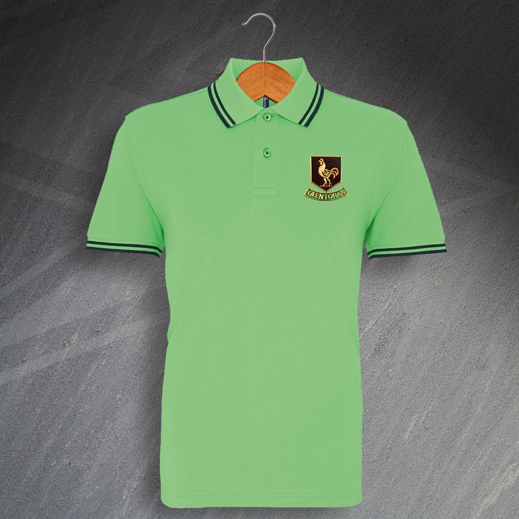 Glentoran Embroidered Polo Shirt