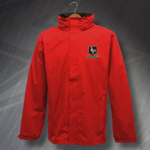 Retro Glentoran Waterproof Jacket