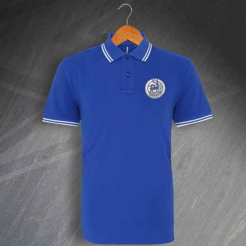 Hartlepool Football Polo Shirt Embroidered Tipped 1879
