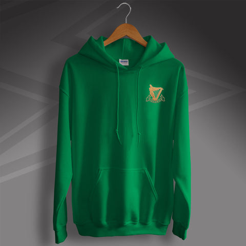 Retro Hibs Hoodie with 1900s Embroidered Badge