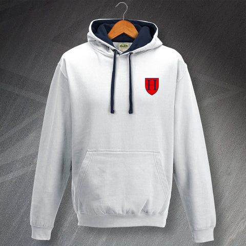 Tottenham Football Hoodie Embroidered Contrast 1883