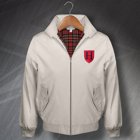 Tottenham Football Harrington Jacket Embroidered 1883