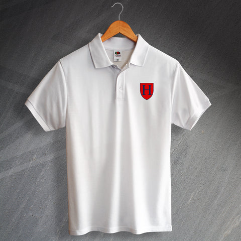 Tottenham Football Polo Shirt Embroidered 1883