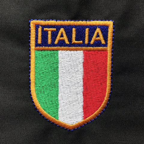 Retro Italy Embroidered Badge
