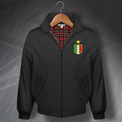 Juventus Football Harrington Jacket Embroidered 1961