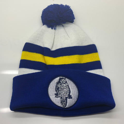 Leeds Football Bobble Hat Embroidered 1964
