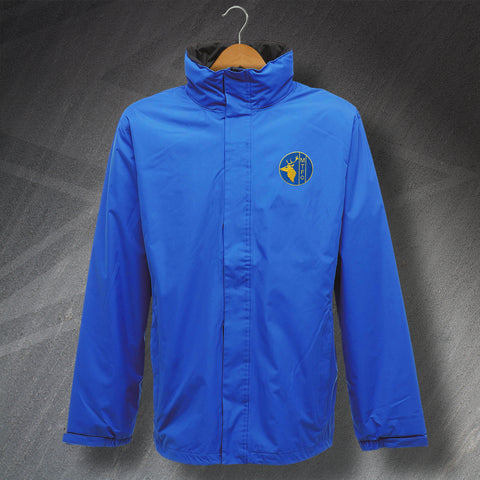 Retro Mansfield Waterproof Jacket with Embroidered Badge