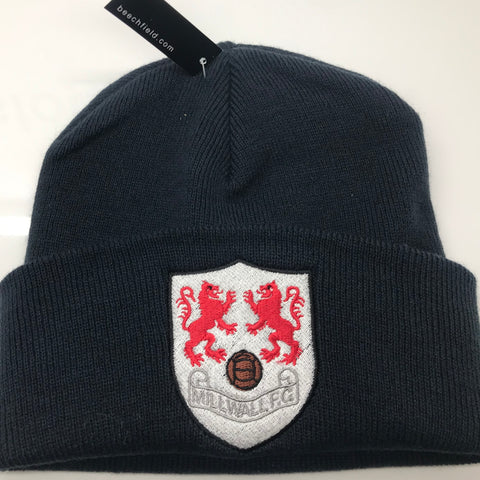 Millwall Football Beanie Hat Embroidered 1956