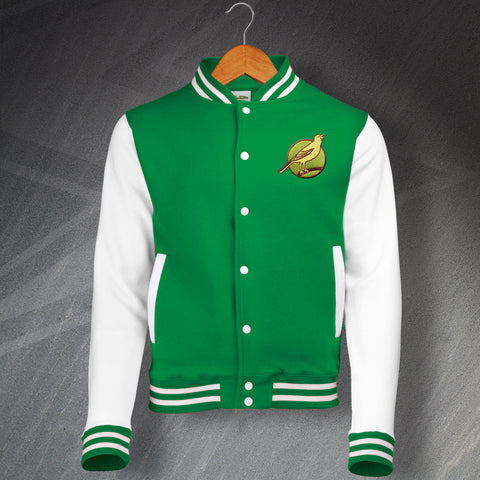 Norwich Football Varsity Jacket Embroidered 1902