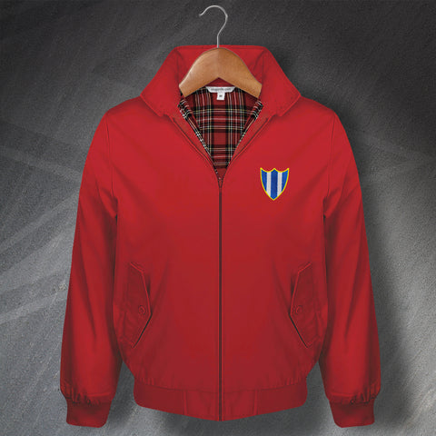 Retro Orient Classic Harrington Jacket with Embroidered 1965 Badge