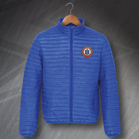 Retro Rangers Fineline Padded Jacket with Embroidered Badge