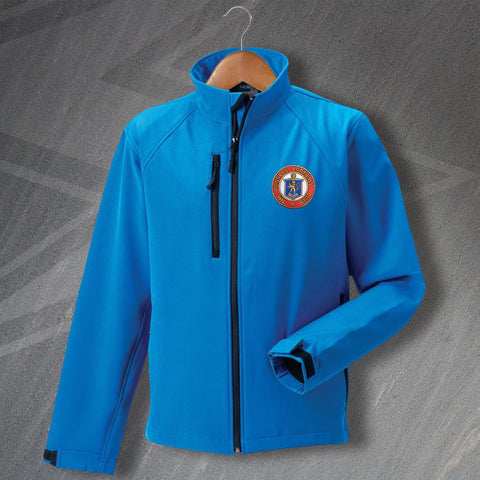 Rangers Football Jacket Embroidered Softshell 1959