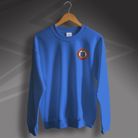 Rangers Football Sweatshirt Embroidered 1959