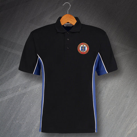 Rangers Football Polo Shirt Embroidered Track 1959