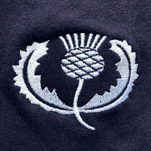Scotland Rugby Embroidered Badge