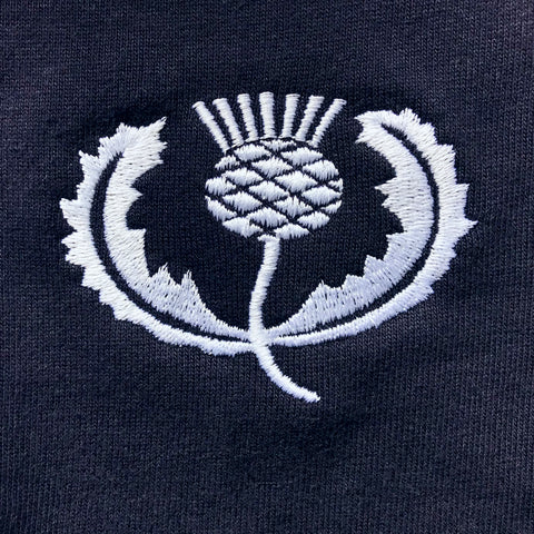 Retro Scotland Rugby Embroidered Badge