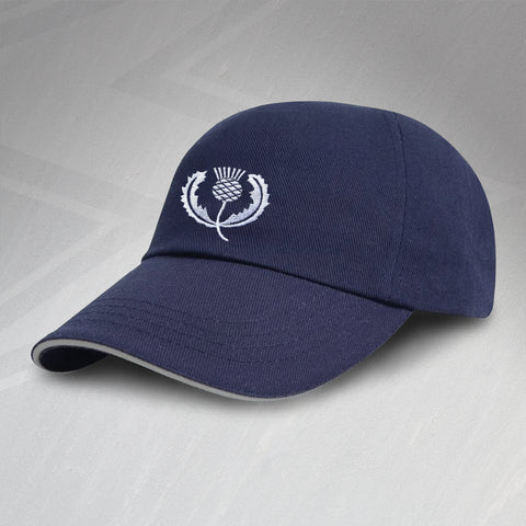 Scotland Rugby Baseball Cap Embroidered 1925