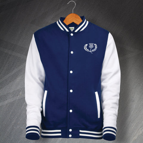Scotland Rugby Varsity Jacket Embroidered 1925