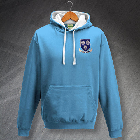 Shrewsbury Football Hoodie Embroidered Contrast 1907