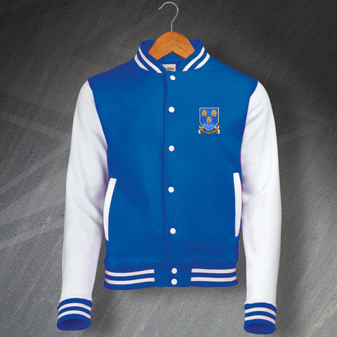 Shrewsbury Football Varsity Jacket Embroidered 1993