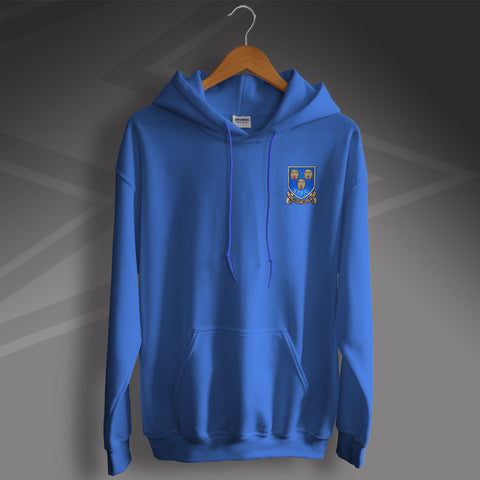 Shrewsbury Football Hoodie Embroidered 1993