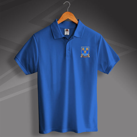 Shrewsbury Football Polo Shirt Embroidered 1993