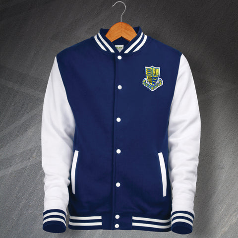 Southend Football Varsity Jacket Embroidered 1982