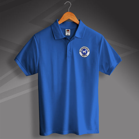 St Johnstone Football Polo Shirt Embroidered 1980