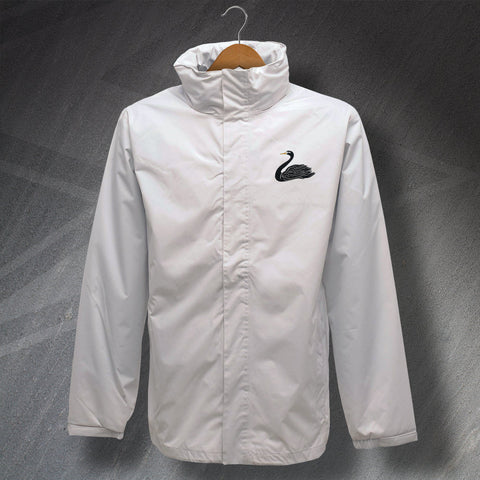 Swansea Football Jacket Embroidered Waterproof 1970