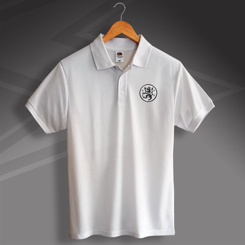 Retro Terrors Polo Shirt with Embroidered Badge