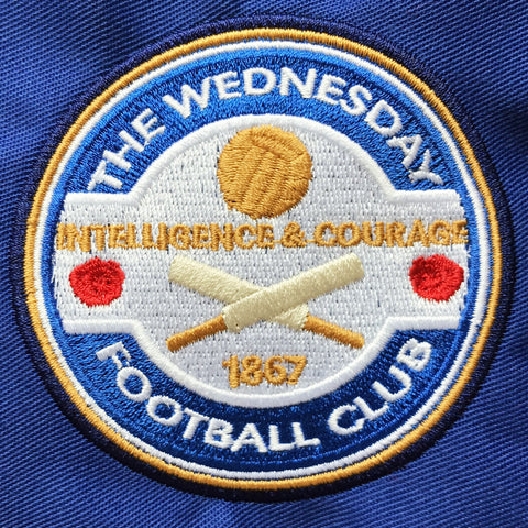Wednesday Embroidered Badge