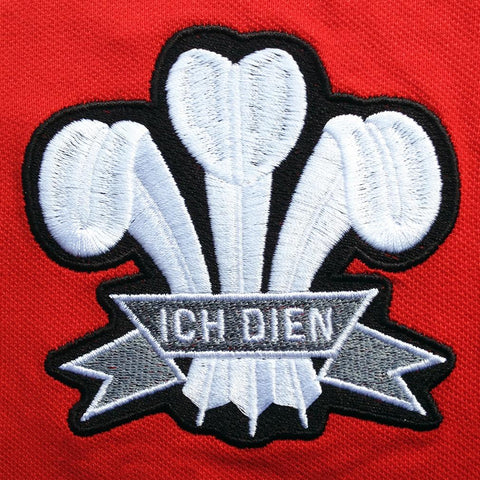 Retro Wales Rugby Badge
