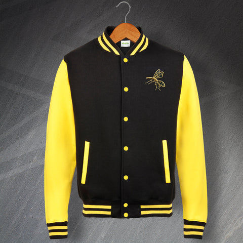 Wasps Rugby Varsity Jacket Embroidered 1867