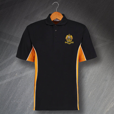Wolves Football Polo Shirt Embroidered Track 1921