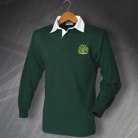 Yeovil Football Shirt Embroidered Long Sleeve 1949