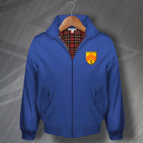Cardiff Football Harrington Jacket Embroidered Riverside