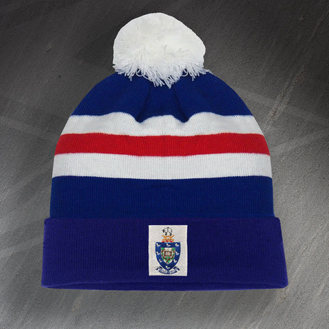 Rochdale Football Bobble Hat Embroidered 1961