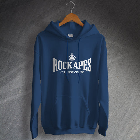RAF Regiment Hoodie Rock Apes It's a Way of Life