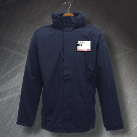 Southend Football Jacket Embroidered Waterproof Roots Hall