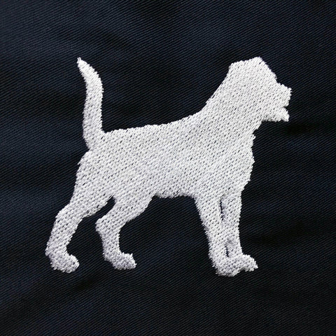 Rottweiler Embroidered Badge