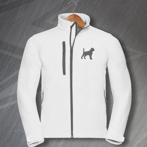 Rottweiler Jacket Embroidered Softshell