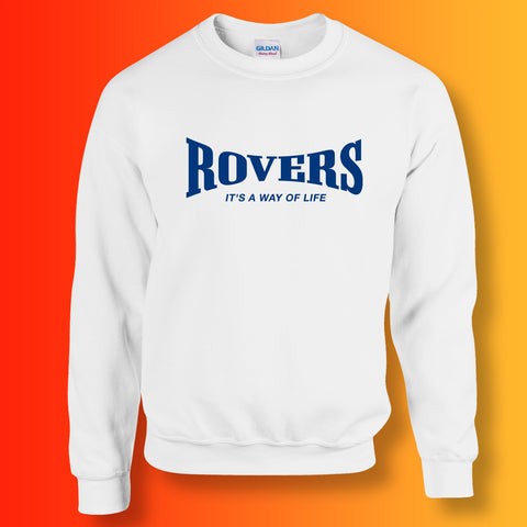 Rovers Sweater with It's a Way of Life Design