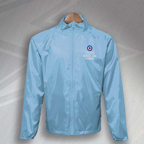 Proud to Have Served In The Royal Air Force Embroidered Lightweight Jacket