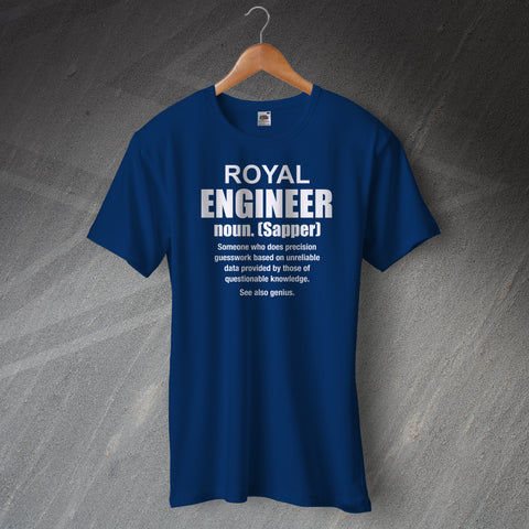 Royal Engineer Meaning T-Shirt