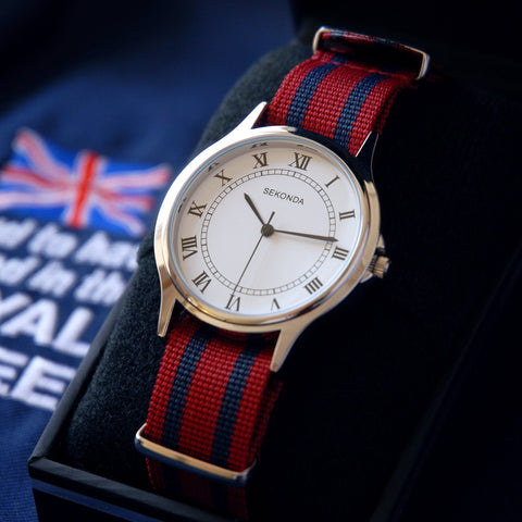 Military Watch Personalised Regiment or Service Watch Band